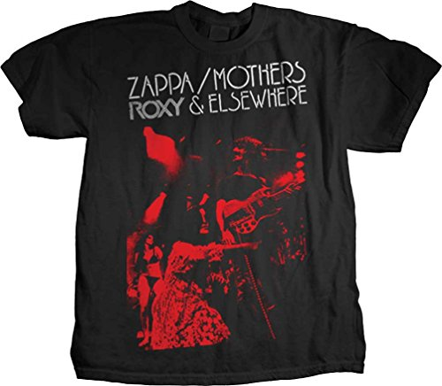 Frank Zappa - Herren Roxy & Elsewhere T-Shirt, X-Large, Black