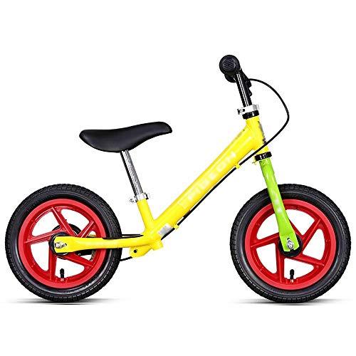 WHTBOX Bicicleta de Equilibrio para Bebé Sin Pedal,Bicicleta de Equilibrio con Freno,Walking,CóModo,Bicicleta...