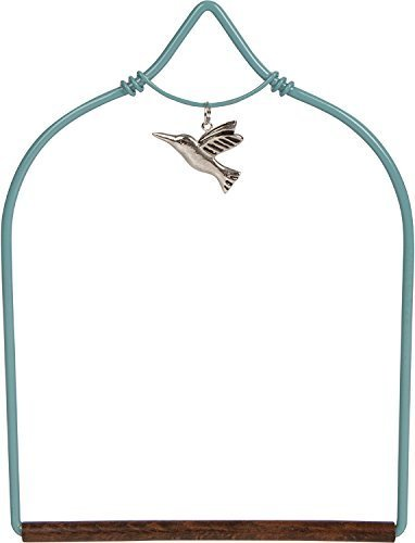 Pop's Charmed Hummingbird Swing in Teal