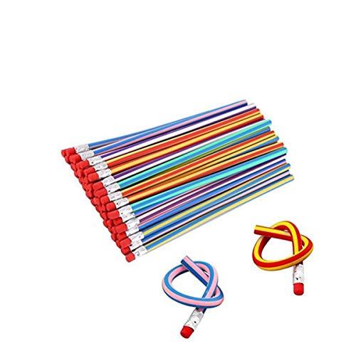 35 Pieces Flexible Soft Pencil Magic Bend Pencils for Kids Children School Fun Equipment