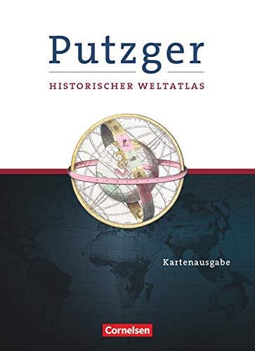 Putzger - Historischer Weltatlas - (105. Auflage): Kartenausgabe - Atlas mit Register