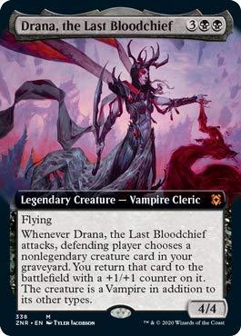 Drana, the Last Bloodchief - Extended Art