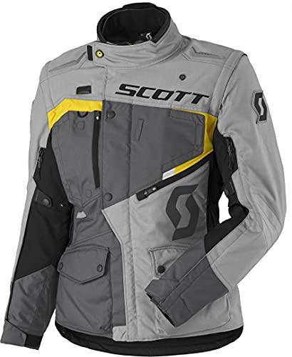 Scott Dualraid DP Damen Motorrad Textiljacke 46 Grau/Gelb