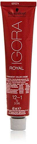 Schwarzkopf IGORA Royal Premium-Haarfarbe 12-1 spezialblond cendré, 1er Pack (1 x 60 g)