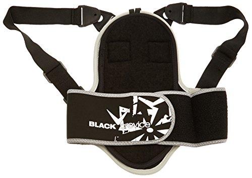 Black Crevice Rugbeschermer voor kinderen en volwassenen