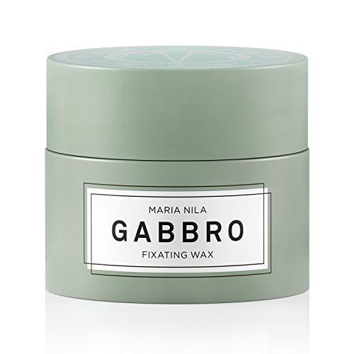 Maria Nila Minerals - Gabbro Fixating Wax 50ml | Schnell trocknendes und formgebendes Haarwachs