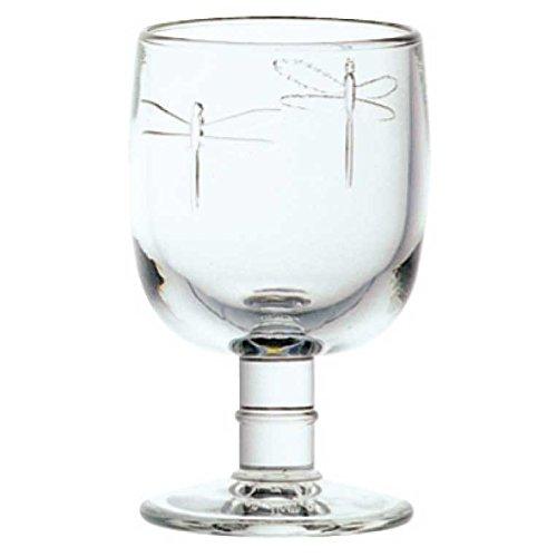 La Rochere - Libelllules, Libelle - Weinglas, Weißweinglas, Rotweinglas - typische Französisch - 200 ml - Glas