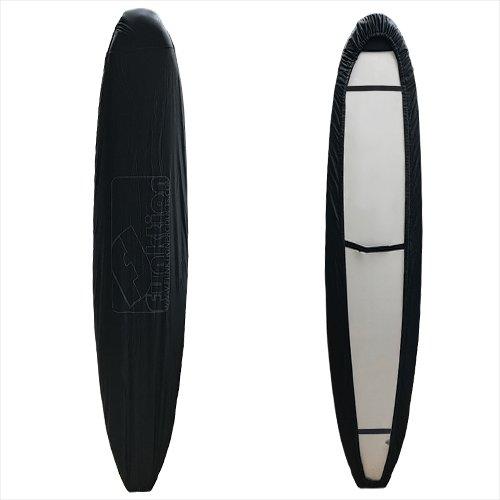 Funktion サーフボードカバー ロングボード用 ブラック ノーズガード 強化版 FK-WRAP-LG-BLK-NG