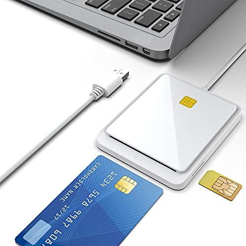 Personalausweis Lesegerät, USB Smartcard Leser, USB Chipkartenleser, DOD Militärischer USB-Zugang CAC/SIM/ID/IC Bank/Chipkarte (E-Tax) usw, anwendbares System Windows, Vista, Linux/Unix, MacOS X