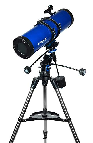 Meade Instruments – Polaris 130mm Aperture, Portable Backyard Reflecting Stargazing Astronomy Telescope for Beginners –Stable German Equatorial (GEM) Manual Mount – Observe Space & the Universe