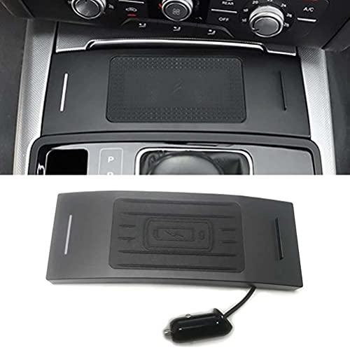 10W Car QI Cargador inalámbrico Cargador de teléfono móvil Placa de carga Accesorios para Audi A6 C7 RS6 A7 2012-2018