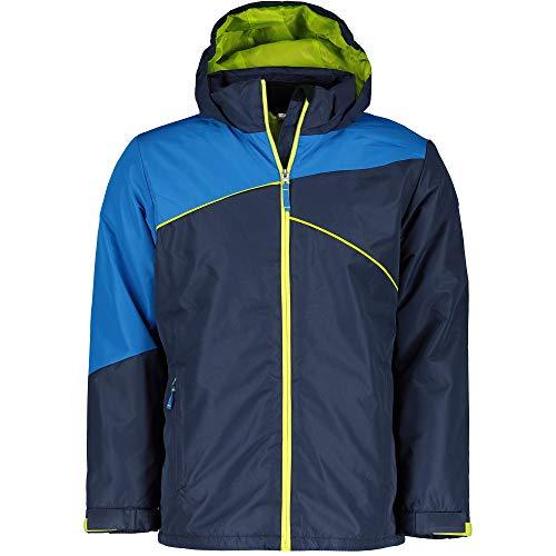 McKINLEY Xander Skijacke Jungen Navy Dark Blue Jacke Snowboardjacke, Größe:140