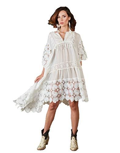 Antica Sartoria Sorrento 94 Vestido (Blanco)