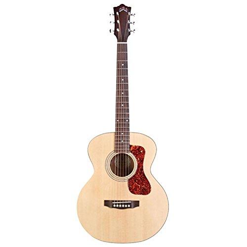Guitarra acústica de caoba Jr de Gremio, natural, tapa...