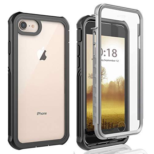 Cover iPhone 6/iPhone 6S/iPhone 7/iPhone 8/se Custodia [Thin Fit 360] Caso Protezione Slim con Proteggi Schermo Custodia Antiurto Cover per iPhone 6/iPhone 6S /iPhone 7/iPhone 8/iPhone se 2020