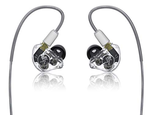 Mackie MP Series In-Ear Headphones & Monitors with Triple Dynamic Drivers (MP-320)