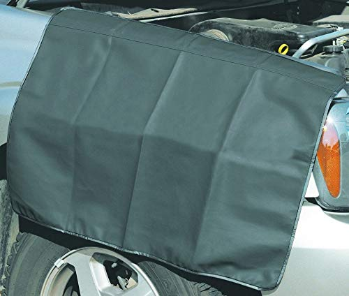 Konnfeir Fender Cover Fender Mat Pad Protector for Repair Automotive Mechanic Work Magnetic Auto Fender Covers 3pcs-Large