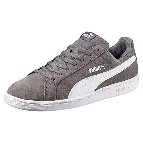 PUMA Smash SD Sneaker Quiet Shade-Puma White 7