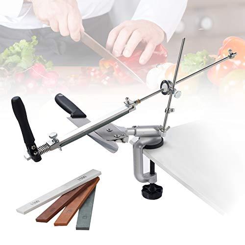 PaNt Afilador de cuchillos de acero inoxidable de 360...