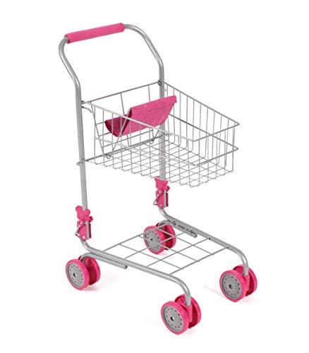 Bayer Chic 2000-Carro de supermercado, Color Rosa (760-20)