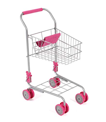 Bayer Chic 2000 760 21 - Carrito de supermercado, Color Rosa