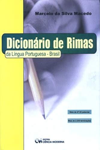 Dicionário de Rimas da Língua Portuguesa – Brasil – 1ª Edição