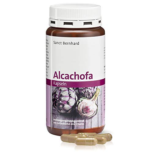 Alcachofa Cápsulas para la digestión - 150 Cápsulas