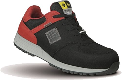 Sicherheitsschuh S3 2W4 Safety Runners (39, schwarz/rot)
