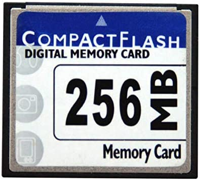 256MB CF (Compact Flash) Card SDCFB-256 or SDCFJ-256M (CAV) Compact Flash Memory Cards