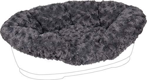 Karlie Pet Bed Cuddly Korb-/Bettauskleidung für Domus Haustierkorb, 80 cm, grau