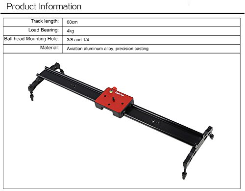 Koolertron Mini Handheld Stabilizer with Quick Release Plate 1/4