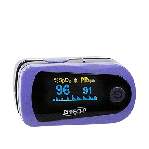 Oxímetro Digital De Dedo Completo Com Estojo GTECH