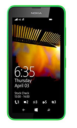 Nokia Lumia 635 4.5' Single SIM 4G 0.5GB 8GB 1830mAh Green - Smartphones (11.4 cm (4.5'), 0.5 GB, 8 GB, 5 MP, Windows Phone 8.1, Green)