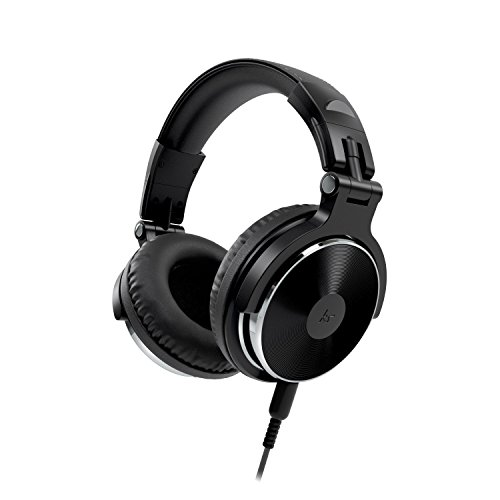 Kitsound DJ 2 Over Ear Headphones Compact Lightweight Foldable with In Line...