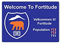 Welcome To Fortitude ティンサイン ポスター ン サイン プレート ブリキ看板 ホーム バーために