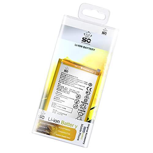 SC Pila Bateria Interna para P9, P10 Lite, P Smart, P20 Lite   Compatible con: EVA-L09, Was-LX3, Fig-LX3, ANE-LX1   HB366481ECW  ...
