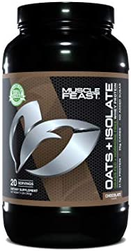 MUSCLE FEAST Oats Isolate Gluten Free Whole Oat Powder Grass Fed Hormone Free Isolate Natural product image