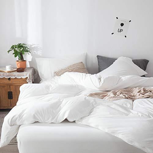 White Jersey Comforter