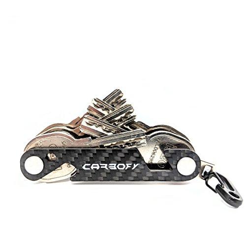 CARBOFY® Key Organizer Multi-Tool aus echtem Carbon Faser