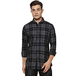 Campus Sutra Mens Checkered Casual Shirt