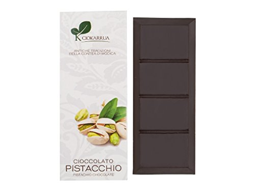 モディカ チョコレート ピスタチオ IGP Modica Chocolate Pistachio 100g イタリア シチリア | ギフト プレゼント カカオ50% ヴィーガン 板チョコ スイーツ ポリフェノール