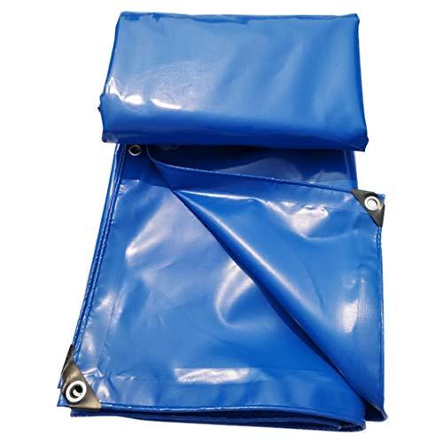 Polyester-canvas, hoge duurzaamheid, wasdoek en waterdichte afdekking van PVC-gecoat materiaal voor zeilen of reparaties aan het dak. 3x5m