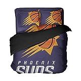 Ebedr Phoenix Duvet Cover Arizona Basketball Bedding Teens Boys Quilt Sheet Soft Bedspread Sets Queen 4pcs