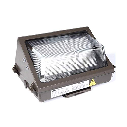 Dusk to Dawn, Photocell Include, 1 Pack LED Wall Pack, 60W, 6500Lm, 100277V, 5000K, 250W MH Equal, IP 65, DLC Certified, TUV Listed, with Photocell (60W, 1 Pack)
