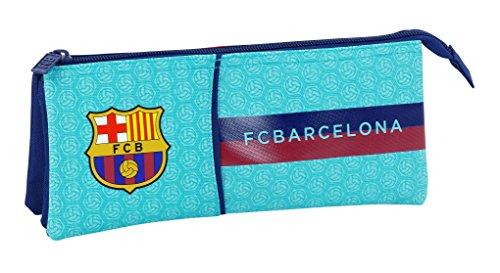 Astuccio F.C. Barcelona 2ª Equipacion 17/18 Ufficiale, Scolastico