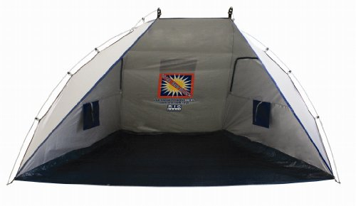 Rio Total Sun Block Beach Shelter in Silver