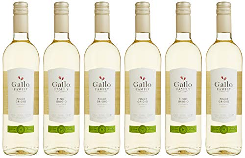 Gallo Family Vineyards Pinot Grigio Ernest und Julio Halbtrocken (6 x 0.75 l)