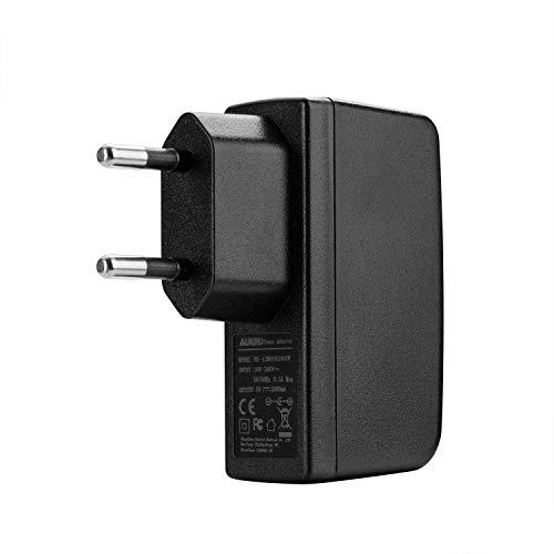 Aukru USB Stromadapter 5V 2000mA Netzteil / Ladegerät / Ladeadapter Universal für Raspberry Pi, Power Bank, iPhone 8 /8 Plus /7 Plus /6S Plus /5S, iPad, iPod, MP4, Samsung Galaxy S7/S6, Hinweis 5 usw.