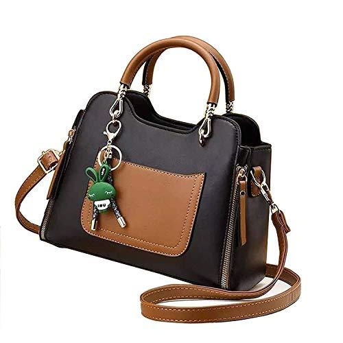 Ghime New Women Bag Shoulder Messenger Handbag Women - Black