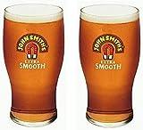 2x Lunettes de John Smith de verre à bière (2)